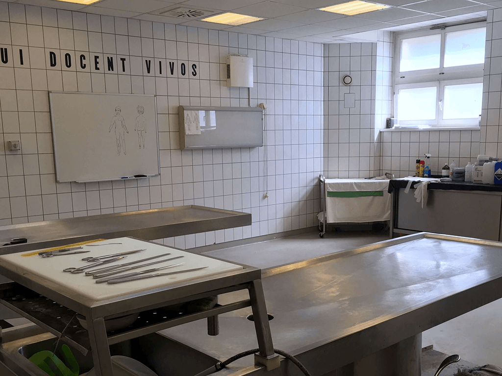 Novaerus plazmatechnológiás légtisztító az ózdi kórház bonctermében