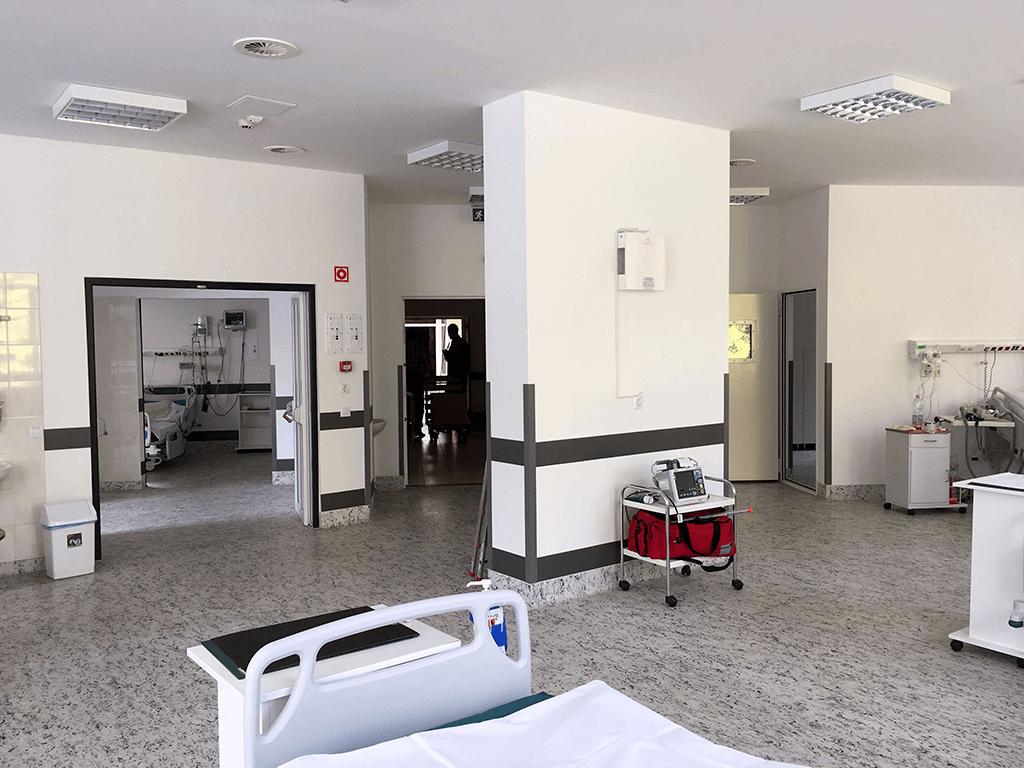 Intenzív osztály, Koch Róbert Kórház, Edelény