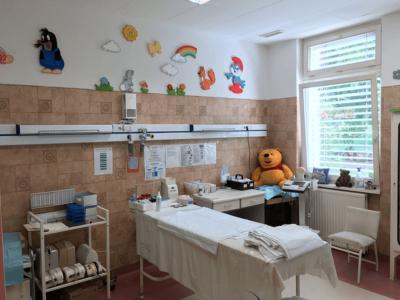Novaerus plazmatechnológiás légtisztító az ózdi kórház gyermekosztályi kezelőjében