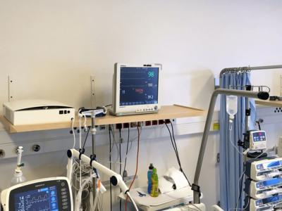 Novaerus plazmatechnológiás légtisztító a miskolci Borsod-Abaúj-Zemplén Megyei Központi Kórház intenzív osztályán