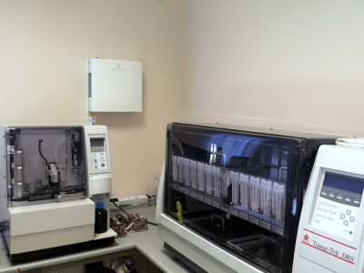 Novaerus plazmatechnológiás légtisztító a budapesti Uzsoki Utcai Kórház szövettani laborjában