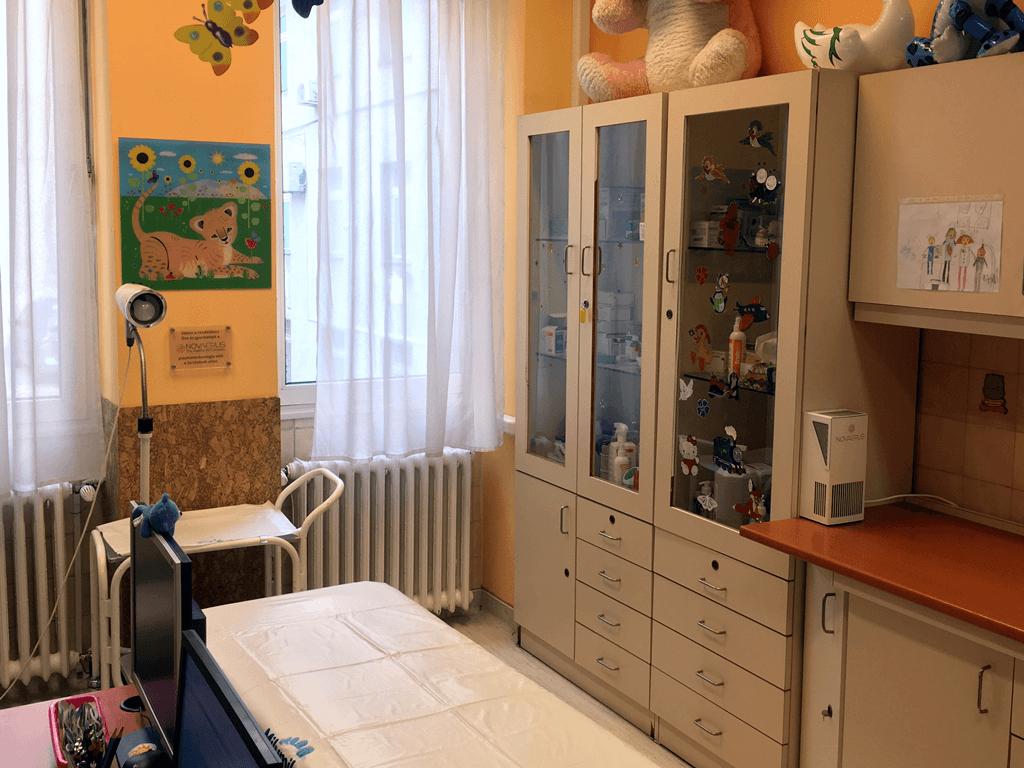 Gyermekorvosi rendelő