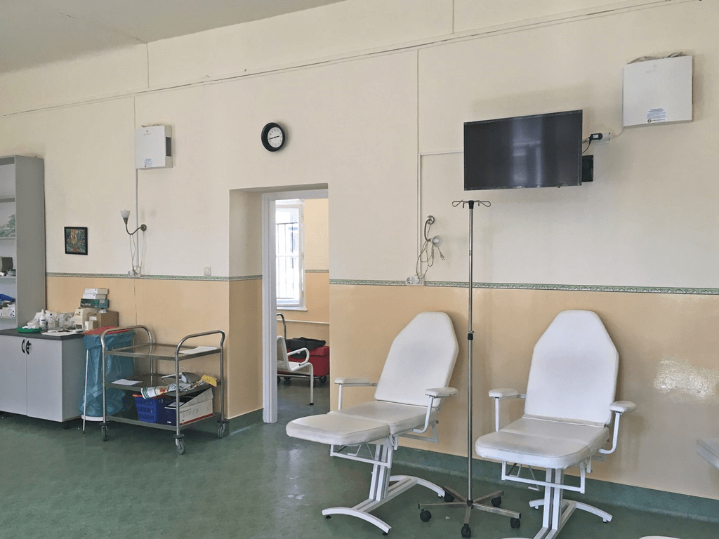 Honvédkórház kúraszoba (A)