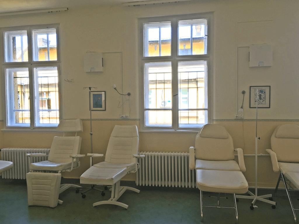 Honvédkórház kúraszoba (B)